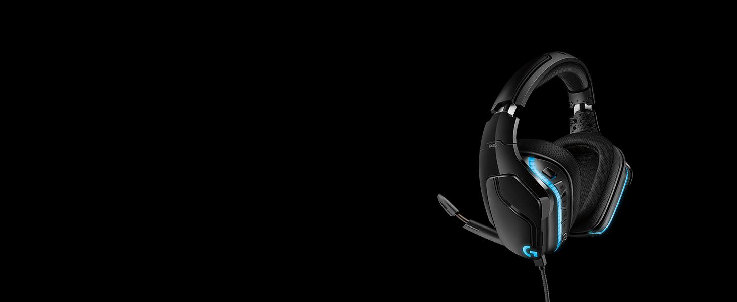 G635 7.1 Surround Sound LIGHTSYNC Gaming Headset