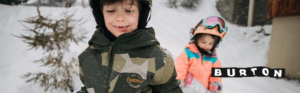 burton kids youth boys girls jacket rain waterproof warm insulated snow ski ride mountain resort