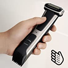 shave chest, shave below waist, mens body shaver, Sensitive skin shave
