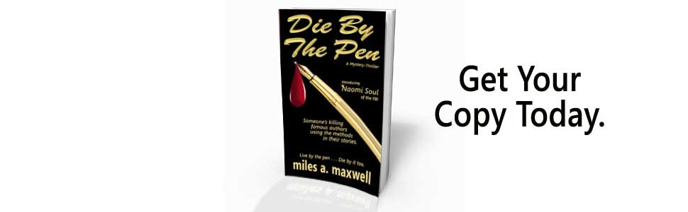 best-seller, Miles A. Maxwell, FBI investigation, mystery crime, domestic, women sleuth, USA Today