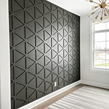 custom wall treatment