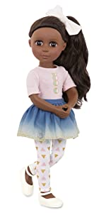 Keltie 14-inch doll Glitter Girls Battat posable doll clothes outfits accessories wellie wishers toy