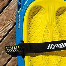 Hydroslide, kneeboard, strap, kneeboard strap,