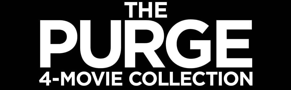 The purge, collection, box set, blu-ray, dvd, anarchy, election year, blumhouse, horror, thriller