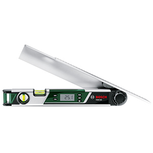 Bosch;digital;measure;angle;measurer;measuring;pam 220;battery;batteries;0603676000;
