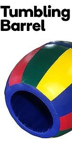 we sell mats,tumbling barrel,recreation,gym barrel