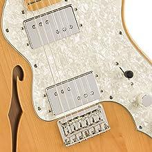 Fender-Designed Wide Range Humbucking Pickups