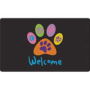 paw;print;animal;dog;puppy;kitty;cat;kitten;welcome;pet;paws;colorful;greeting