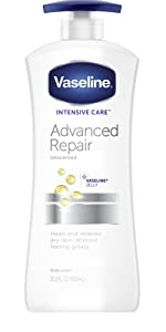Vaseline Intensive Care Body Lotion Advance Repair Unscented