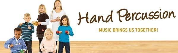 Percusión de mano