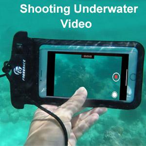 Shooting underwater video