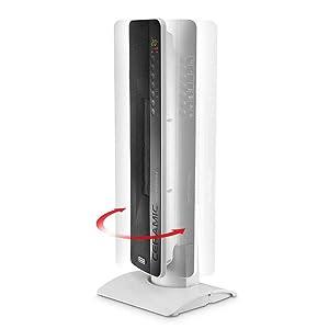 fan heater delonghi swivelling