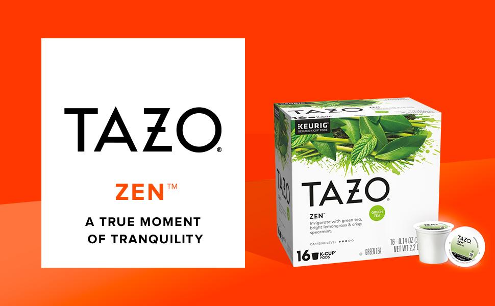 TAZO Zen K-Cup Pods, 16 count