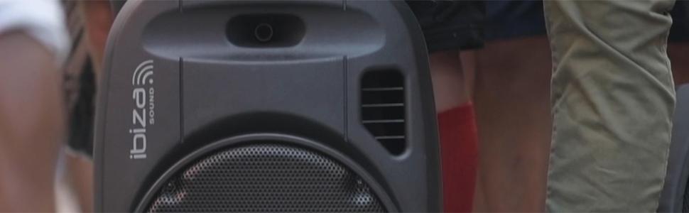 PORT12VHF-MKII draagbare luidspreker