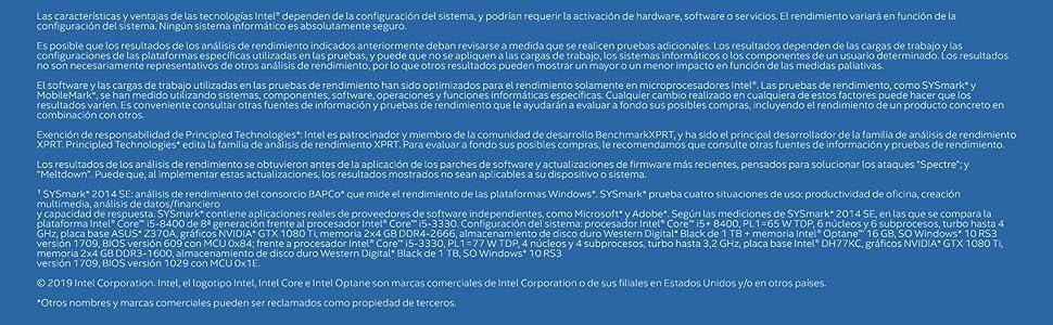 Intel Core i5-8400 - Procesador 8ª generación de procesadores ...