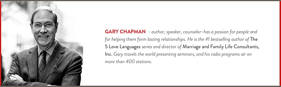 Gary Chapman, 5 love languages, special needs