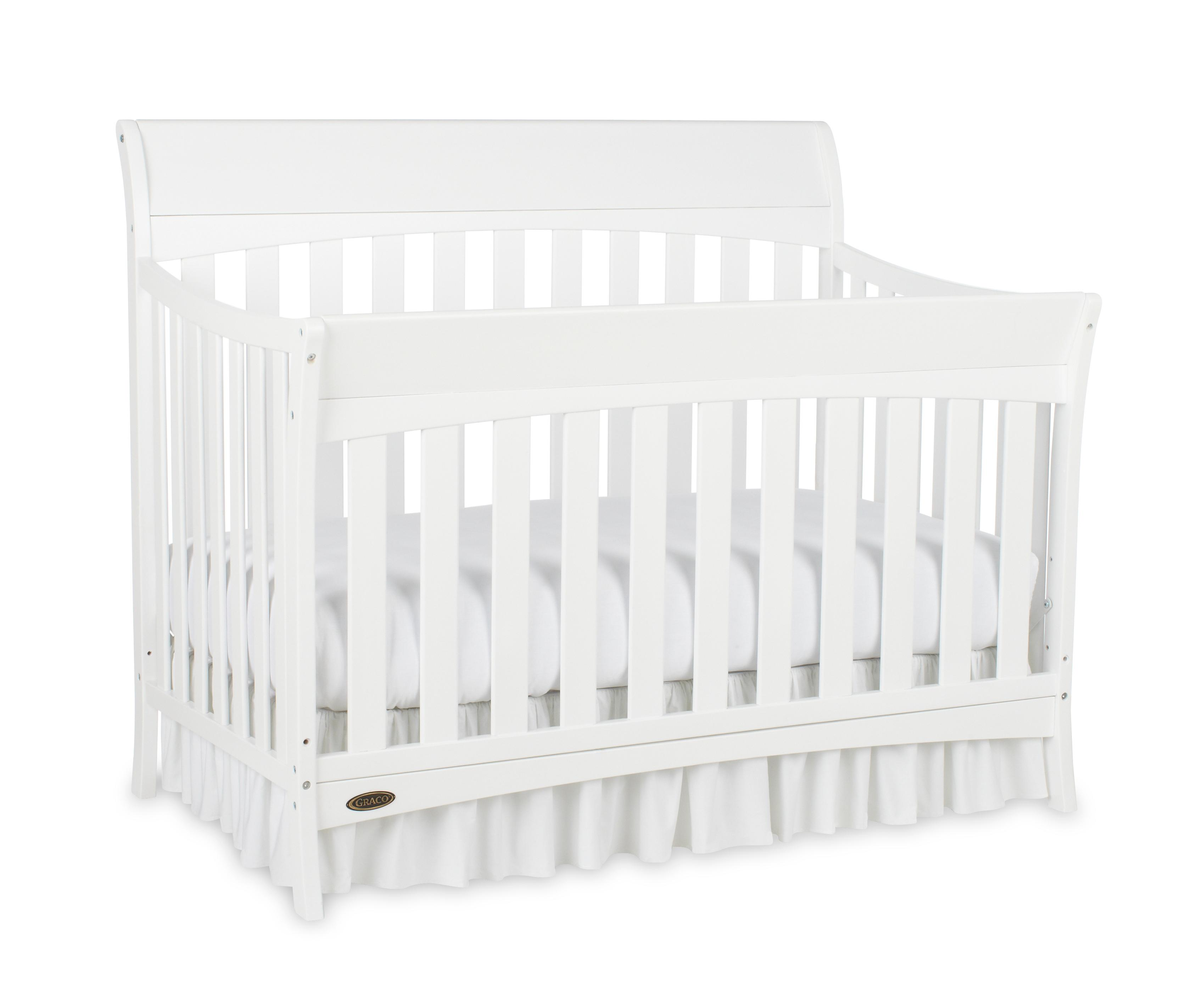 amazon com graco rory convertible crib white baby