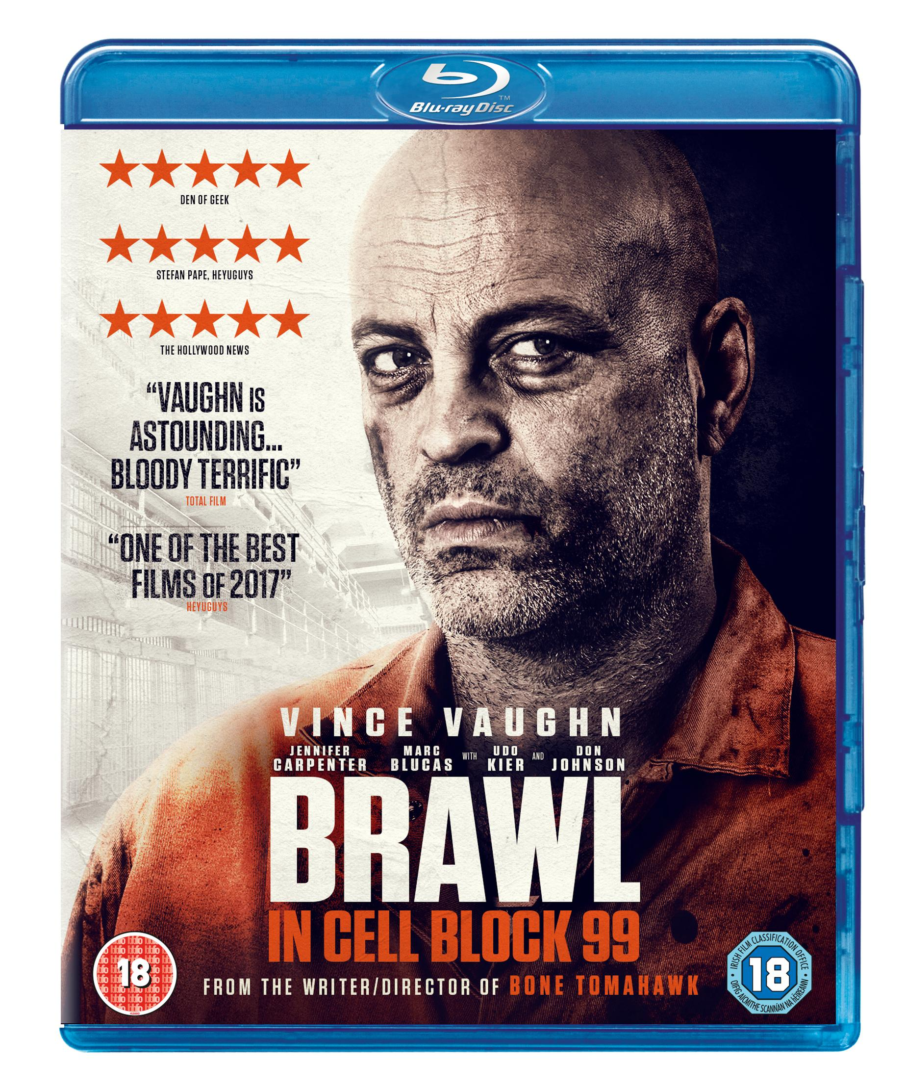 Brawl In Cell Block 99 Blu Ray Amazoncouk Vince Vaughn