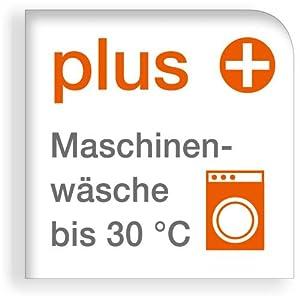Maschinenwaschbar bis 30 °C