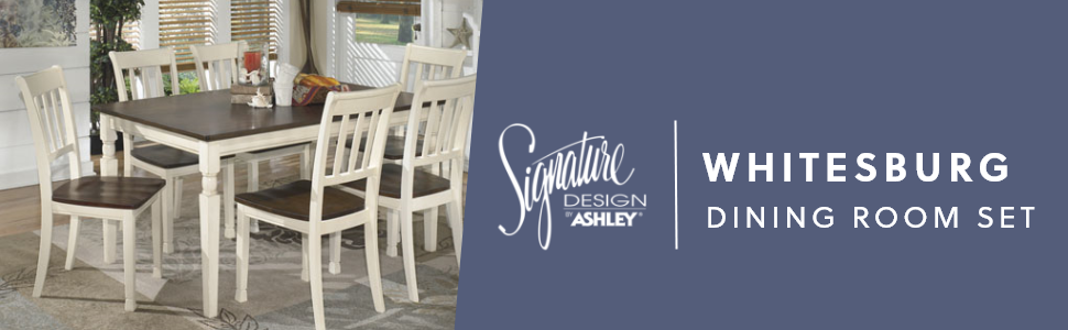 whitesburg dining room set signature design by ashley