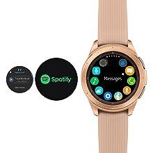 Amazon.com: Reloj Samsung Galaxy (46 mm) Plateado (Bluetooth ...