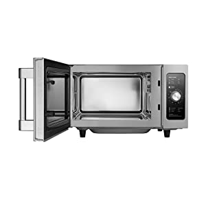 MIDEA 1025F1A Commercial Microwave, Stainless Steel