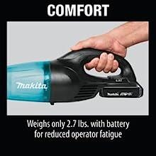 comfort battery weight