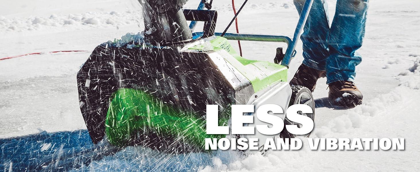 greenworks corded snow thrower blower
