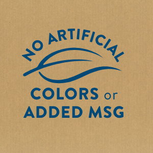 No Artificial Colors or Added MSG