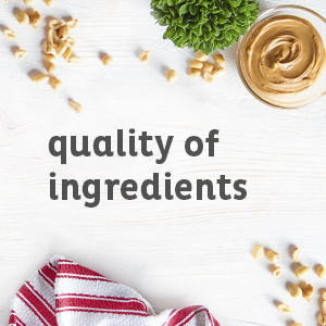 Quality of Ingrediants