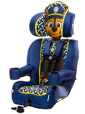 chase paw patrol car seat boostsr girls latch under olds bolster affix ooster cars toddlers