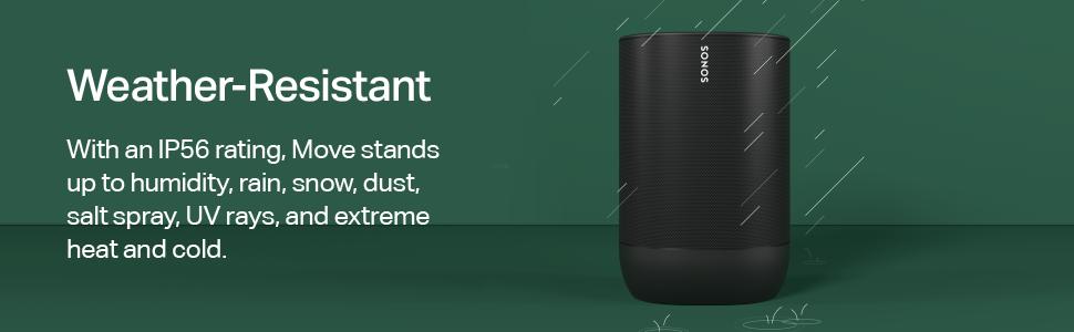 Sonos Move - Weather Resistant