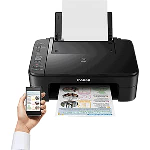 Impresora Multifuncional Canon PIXMA TS3351 Blanca Wifi de inyección de tinta