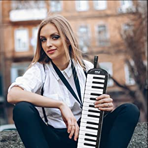 swan melodica; organos yamaha; profesional melodica instrument; accordion instrument full size; pia