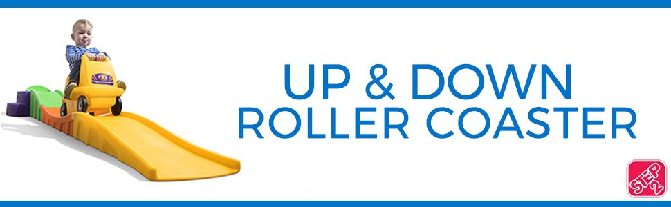 Up & Down Roller Coaster | Kid's Coaster | By Step2