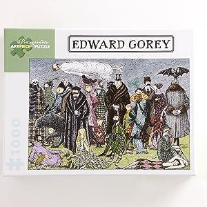 Gorey games puzzlers puzzle 1000 piece