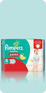 Couches-culottes Pampers Baby-Dry Pants