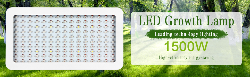 1500w grow light for indoor plant fruit vegs super bright
