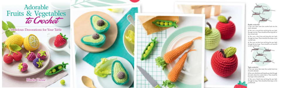 Crochet Fruit And Vegetable Patterns All The Best Ideas | 300x970