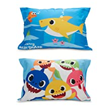 Baby Shark Pillow Covers Cases Reversible
