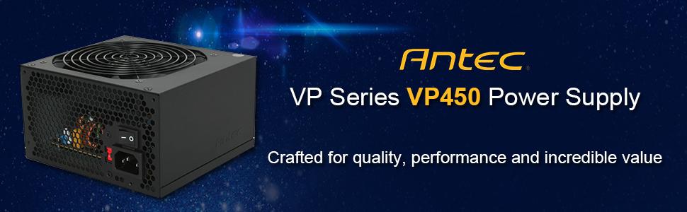 Antec VP450 Power Supply