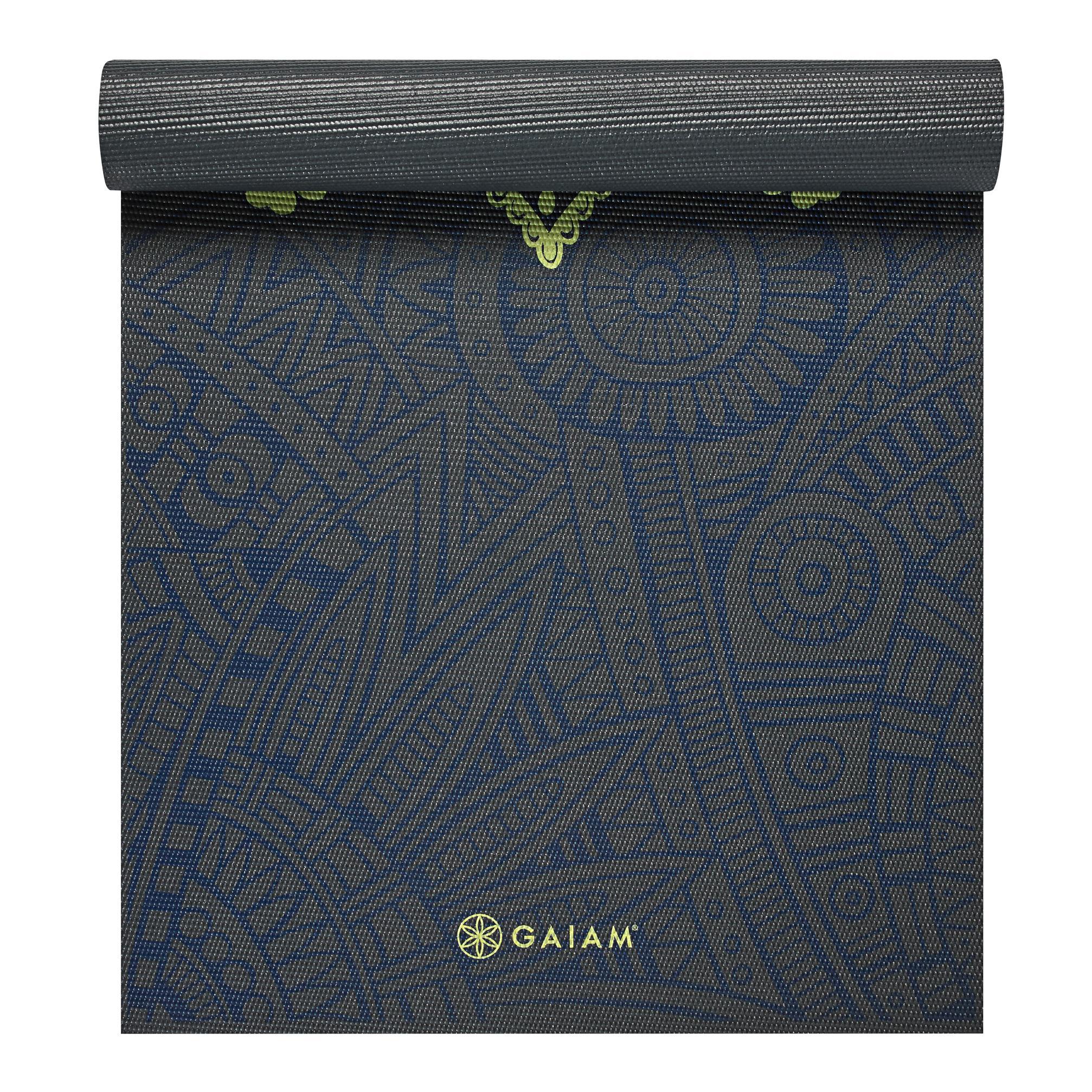 Amazon Com Gaiam Print Premium Yoga Mats Sports Amp Outdoors