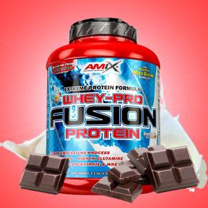 AMIX Nutrition Proteina de suero con sabor de Chocolate, 2300g