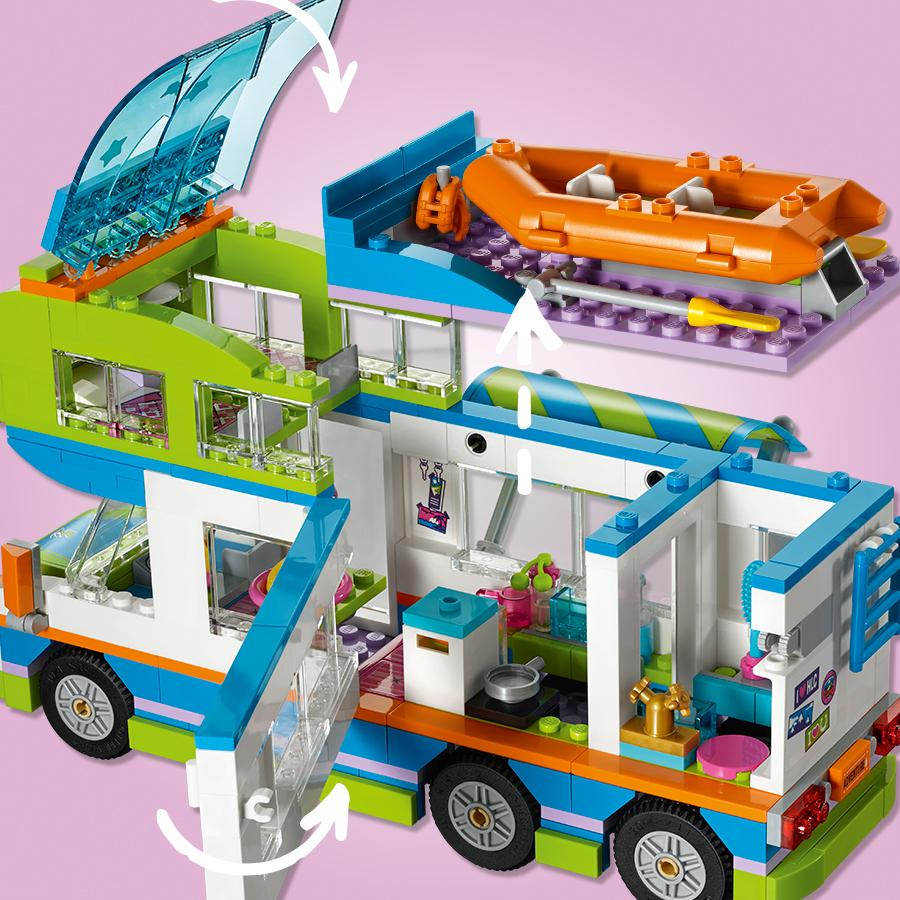 lego friends il camper van di mia 41339 lego giochi e giocattoli. Black Bedroom Furniture Sets. Home Design Ideas
