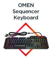 OMEN by HP Sequencer Keyboard