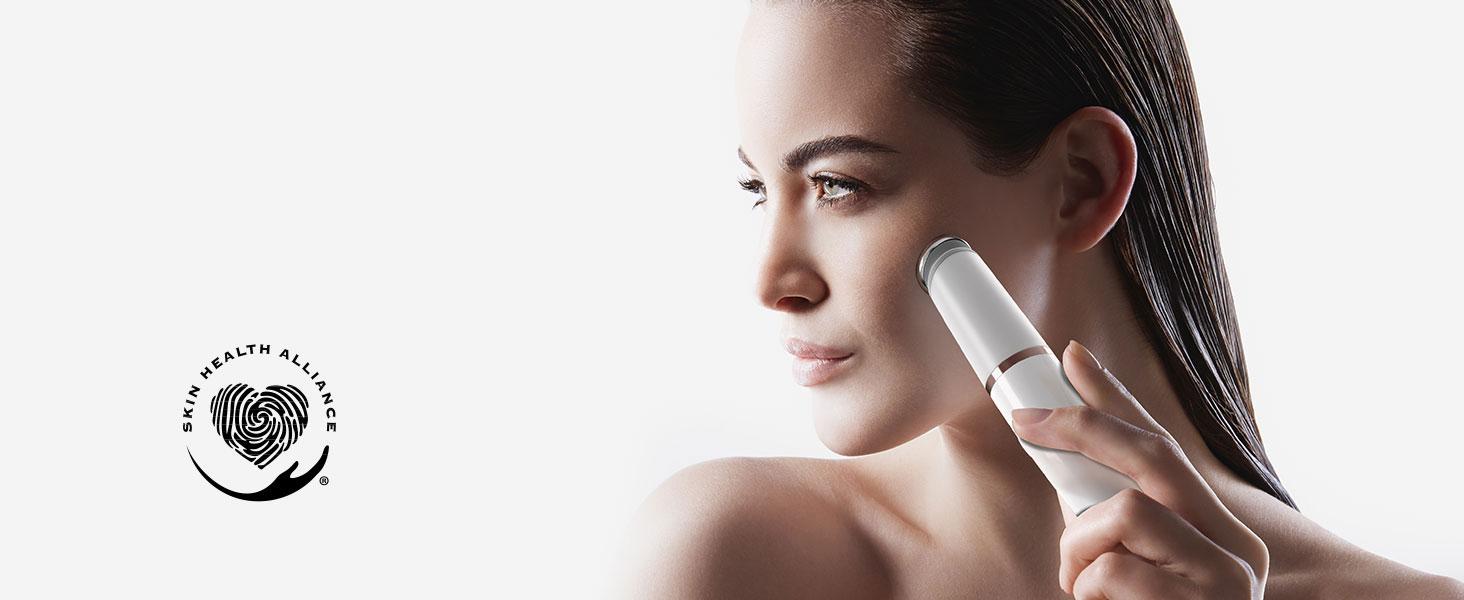 Raccomandato da Skin Health Alliance