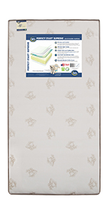 ... serta toddler baby crib mattress bed safe sleep kids nursery ...