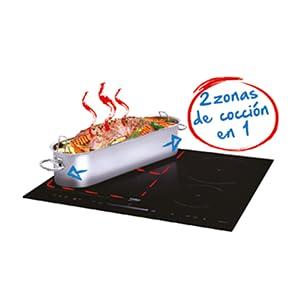 Beko Placa de inducción Blanca HII 64500 FHTW, 7200 W: 345.9 ...