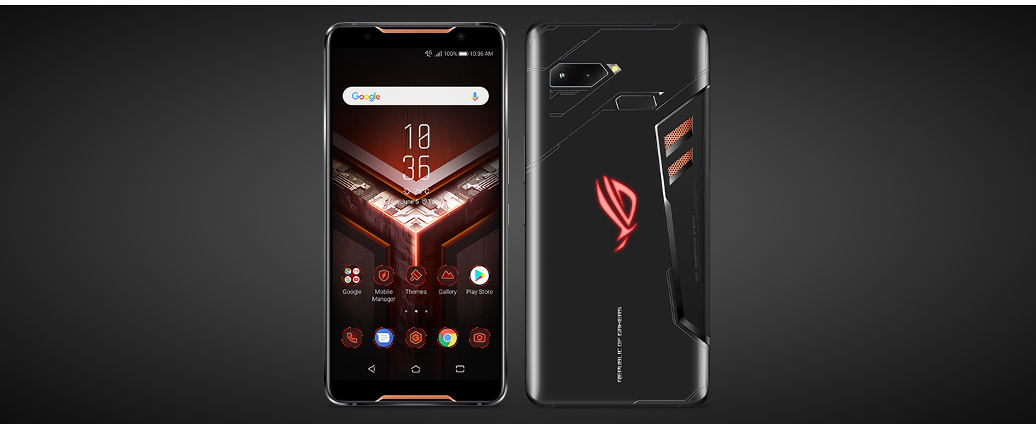 ROG phone features