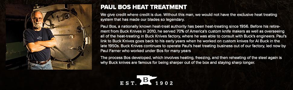 Amazon.com: Buck Knives 110 Famous cuchillo de caza plegable ...